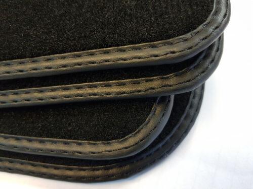 NUOVO tappetini neri per BMW 6er e24 Coupe anno 1975-1989 qualità velluto