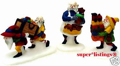 """Dept 56 Heritage Village /""""Toymaker Elves/"""" #56022.............NEW IN ORIGINAL BOX"""