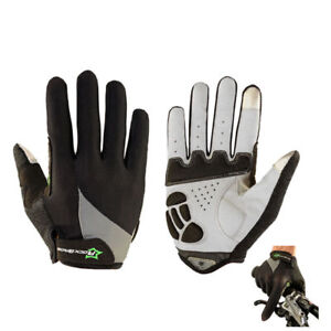 RockBros Cycling Long Full Finger Spring Warm Touch Screen Gloves-Cobweb Style