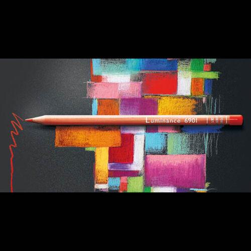 Caran D`ache Luminance 6901 Colour Pencils Box Set of 76 with 2 Full Blenders