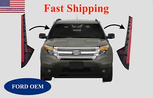 11-19 Ford Explorer Windshield Outer Trim Pillar Molding Passenger /& Driver Side