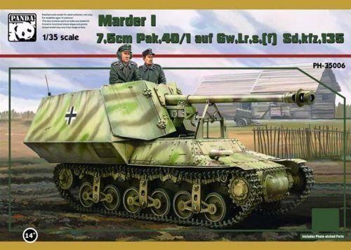 Panda 1 35 Sd.kfz135-1 7.5cm Marder i (Lorraine)  35006