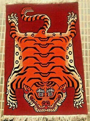 Tibetan Tiger Rug Small Size 2x3 Ebay