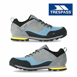 Trespass-Mens-Walking-Trainers-Waterproof-Hiking-Trekking-Lace-Up-Shoes