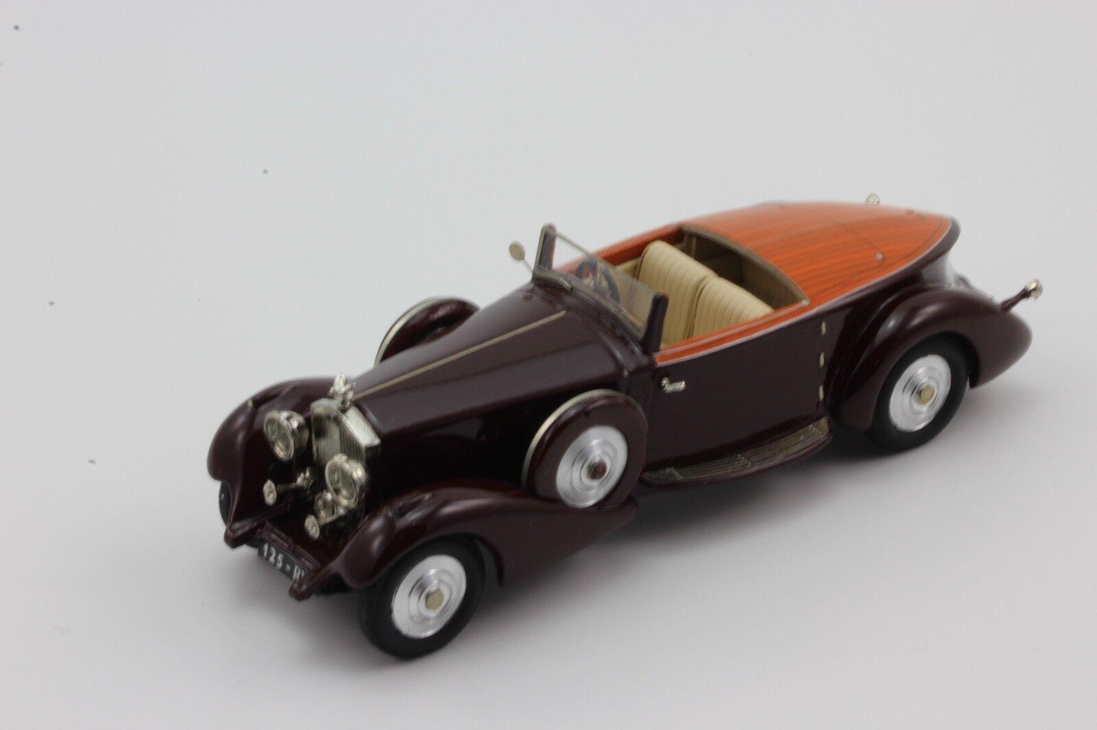 CCC Rolls Royce Phantom II 125 RY BOATTAIL 1 43 by Mulliner 1934 CCC 202