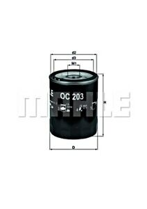 MAHLE Oil Filter For FORD MAZDA Escort 81 95 IV V VI VII Fiesta III II 6179700