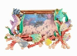 Sea-Life-Frame-From-Ciel-Collectables-with-Enamel-amp-Swarovski-Crystals