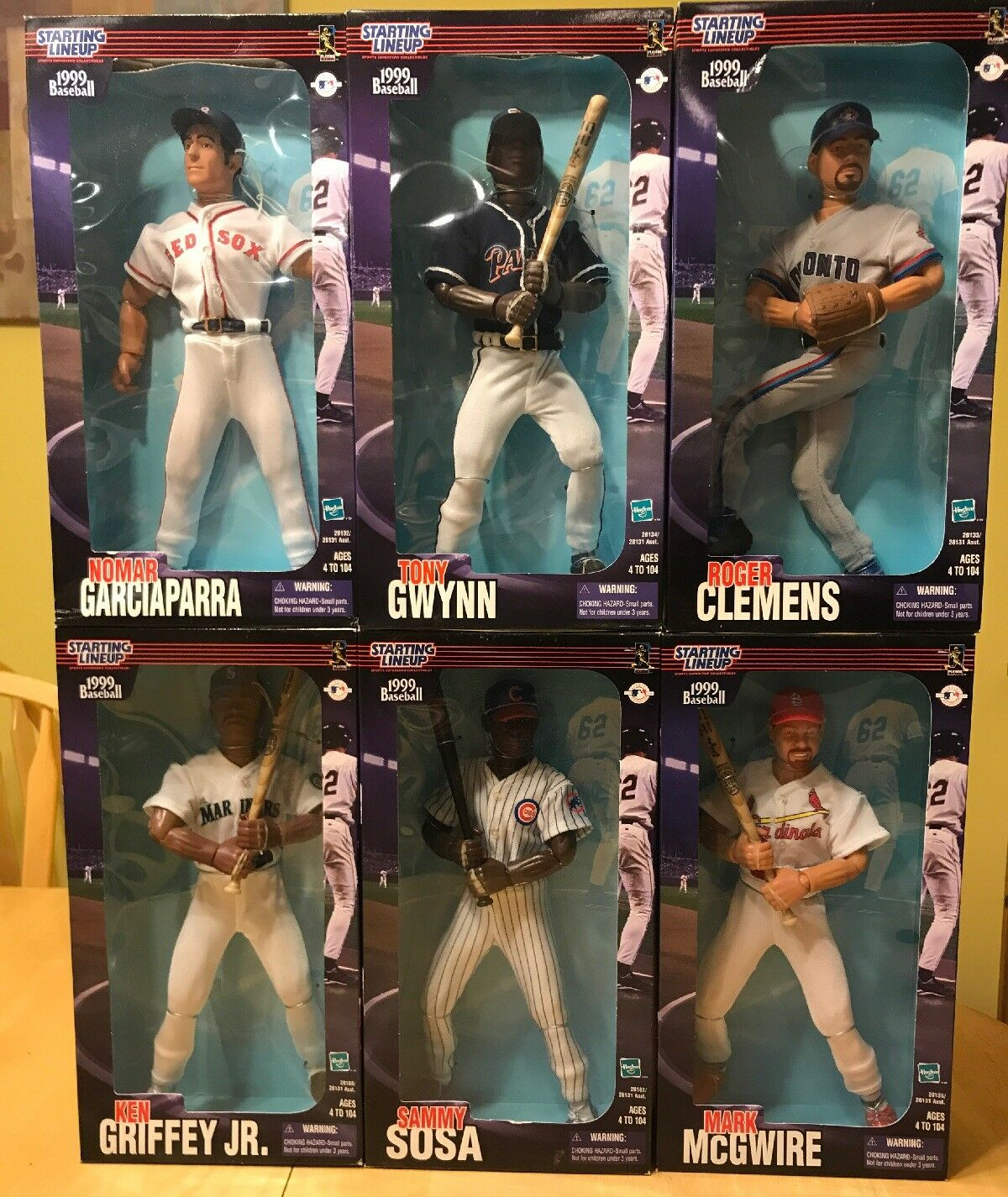 Entire 1999 Starting Lineup Poseable Figures.  Collectibles- Brand New In Boxes