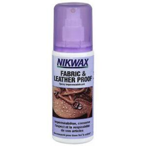 Nikwax Fabric & Leather Proof, imperméabilisant chaussure tissu et cuir.
