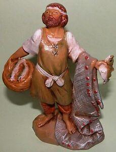 Fontanini-Nativity-Hiram-fisherman-fish-Christmas-Life-of-Christ-5-in-NIB