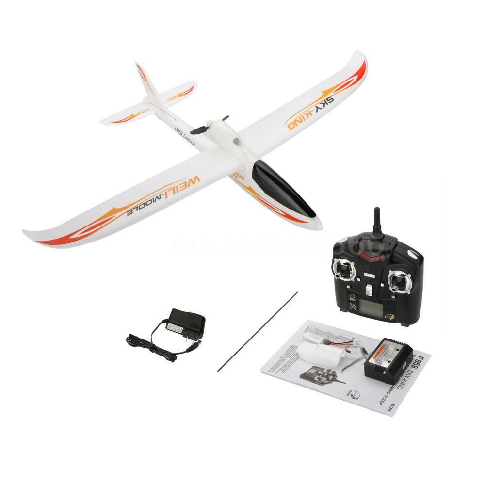 Airplane Wltoys F959 -King 2.4G 3CH RC Airplane Aircraft RTF Version US Plug