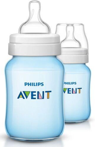 Philips Avent 2x260ml Baby botellas set azul joven clásica-plus scf565//27 aspirador