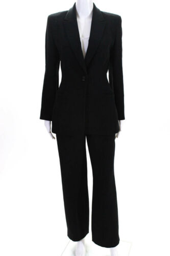 Badgley Mischka Womens Button Down Blazer Pant Sui