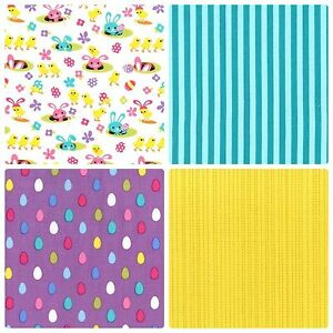 MICHAEL-MILLER-SPRING-MEADOW-CRAFT-FABRIC-EASTER-FABRIC-FAT-QUARTERS