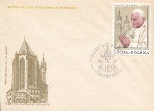 12-Raritaet-034-Papst-I-Reise-nach-Polen-1979-034-FDC-Stempel-von-Warschau-1678