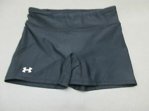 Under-Armour-Size-S-Womens-Black-Athletic-Gym-Running-Fitness-Shorts-880