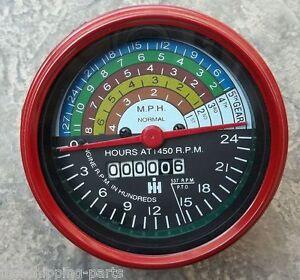 Farmall-IH-Tachometer-Diesel-400-450-W400-W450-Tractor-364395R91