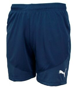 71bb3bef1 Puma Men KK Mesh WB Shorts Pants Training Navy Running Soccer GYM ...