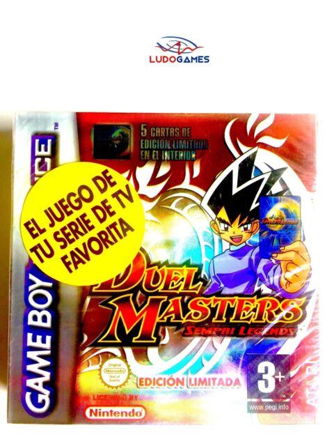 Duel Masters Sempai Legends GBA Gameboy Advance Nuevo Precintado Sealed SPA