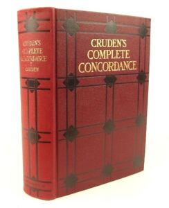1930-Gruden-039-s-Complete-Concordance-Bible-Publisher-039-s-binding