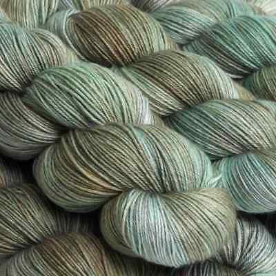 :Sock Yarn DRK: Hedgehog Fibres merino wool yarn