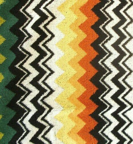 "MISSONI /'Niles/' Zig-Zag Luxury Designer Beach Towel 71/"" x 40/"" Made in Italy NWT!"