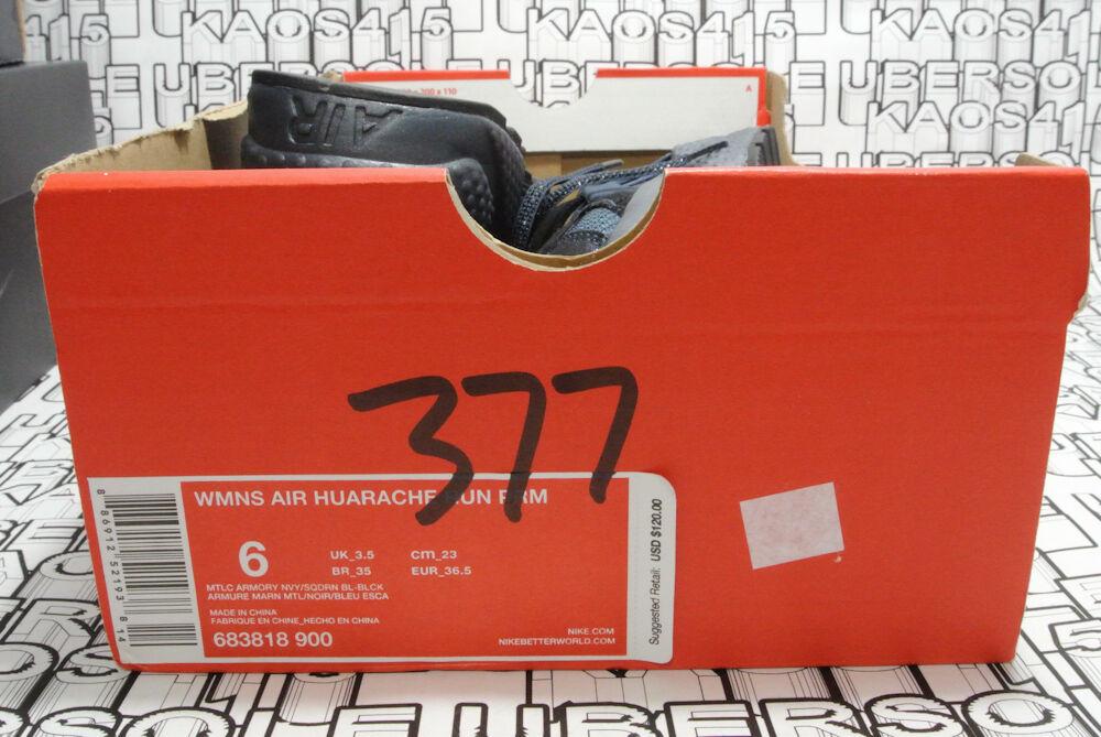 finest selection efc62 43be2 ... CUTE NEW Nike Huarache Metallic Metallic Metallic Blue GLITTERY Premium  qs 683818 900 Women 6 1a2c3c