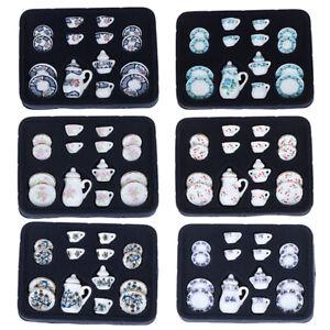 1-12-Miniature-15pcs-Porcelain-Tea-Cup-Set-Chintz-Flower-Tableware-Kitc
