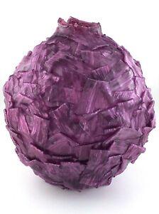 Vintage-Spaghetti-Lucite-Purple-Hanging-Lamp-Shade-MCM-Mid-Century-Modern-S134