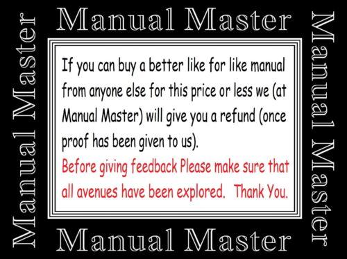 EXTENDED COMPREHENSIVE Singer 201K2 Sewing Machine instruction Manual Booklet