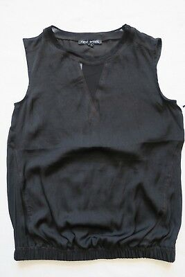 100% QualitäT Next Women`s Sleeveless Top Black Size 6,6p,12,20 Schrumpffrei