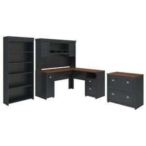 Fairview L Shaped Desk Office Suite