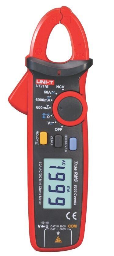 Uni-T UT211B 17mm Profi Strom Zangen Multimeter TRMS  uni-t AC DC clamp UT-211 B