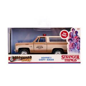 Jada-Hollywood-Rides-Stranger-Things-Hopper-039-s-Chevy-Blazer-1-32-Scale