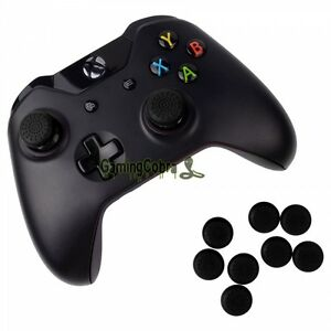 Details about 10X Silicone Rubber Black Joystick Thumb Stick Grip Cap for  Xbox One Controller