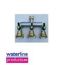 Latón Manguera connectors/fittings Geka Tipo acoplamiento rápido válvula colector