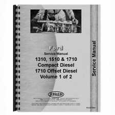 Service Manual 1310 1510 1710 Compatible With Ford 1310 1510 1710