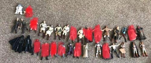 """STAR Wars 3.75/"""" cifre per la vendita"""