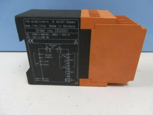 ifm Electronic Monitor FR-1 Impuls Auswertesystem DD2001