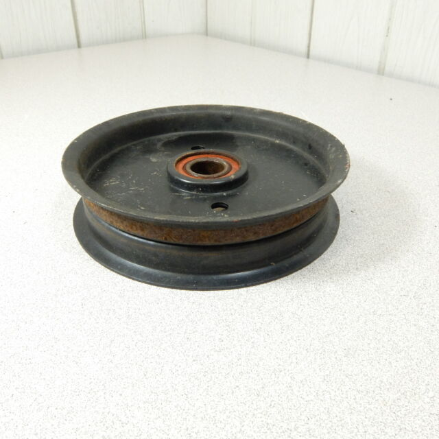 """Used Toro 52"""" Deck Idler Pulley  1-613098 fits TimeCutter 18-52"""