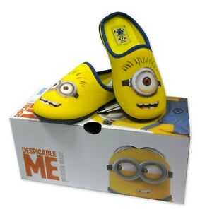 Pantuflas-Minion-Man-Film-Despreciable-Me-Originales-100-Oficiales-Zapatillas