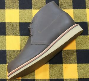 d638332bec2 Details about THOROGOOD MERRILL 1892 Chukka BOOTS Leather UNRELEASED SAMPLE  9 D Made in USA