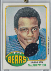 WALTER-PAYTON-2001-TOPPS-RETRO-ROOKIE-GAME-USED-JERSEY-CARD-1976-STYLE