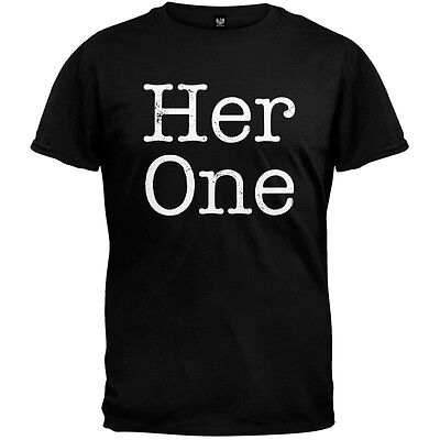 Valentine's Day - Her One Matching Couples Adult Mens T-Shirt