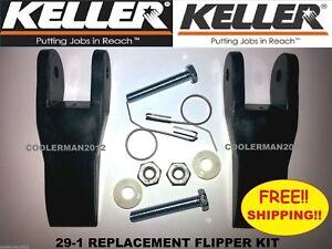 Details about Keller Replacement Flipper Parts Kit Fiberglass & Aluminum  Extension Ladder
