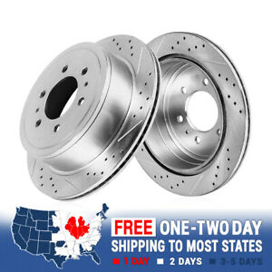 For Both Left and Right 2018 for Ford Transit-350 HD Rear Premium Quality Disc Brake Rotors And Ceramic Brake Pads One Year Warranty