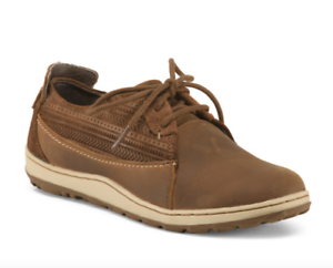 fe8e8187fb4d NEW MERRELL ASHLAND TIE LEATHER SHOES WOMENS 7 BROWN SUGAR BROWN ...