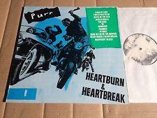 PURR - HEARTBURN & HEARTBREAK - LP - MADAGASCAR RECORDS MAD 010 - 1990 (DI844)