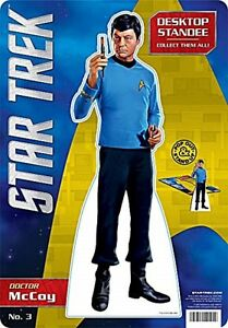 Dr-McCoy-Star-Trek-cardboard-desk-standee-nm