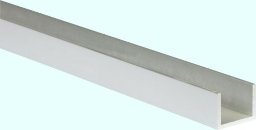 "Aluminum Channel  1//2/"" Leg x 1//2/"" Base Width x 3//8/"" Inside x .062/"" Thick x 8 Ft."